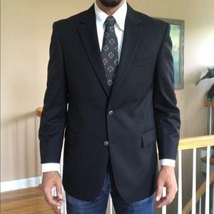 New Brooks Brothers 346 Metal Button Blazer Wool